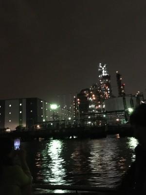 川崎 工場夜景 クルーズ